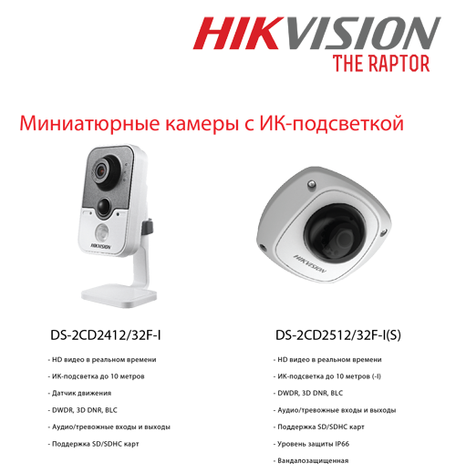 камера IP HikVision