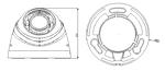 HD-CVI камера видеонаблюдения, Dahua Tech., DH-HAC-HDW1100R