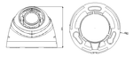 HD-CVI камера видеонаблюдения, Dahua Tech., DH-HAC-HDW1000R