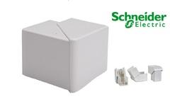 Угол внешний на миниканал ИЗМЕНЯЕМЫЙ 40х16, 40х25, 40х40, Schneider Electric, серия Ultra (ETK40330)