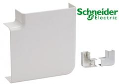 Угол плоский на миниканал 16х16, Schneider Electric, серия Ultra (ETK16340)