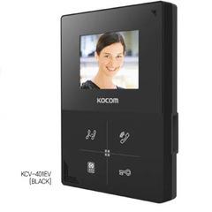 Видеодомофон KOCOM KCV-401EV (black)