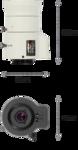 Объектив для видеонаблюдения, Novus, NVL-550D/IR
